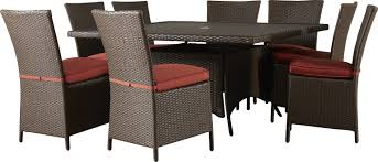 brayden studio luciano 9 piece dining set with cushions u0026 reviews