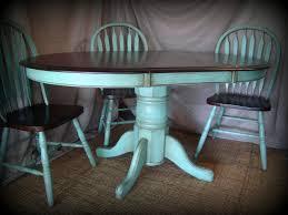 best 25 painted oak table ideas only on pinterest round oak