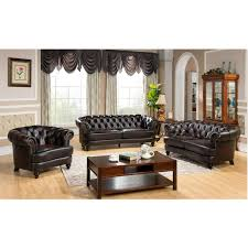 Black Leather Couch Living Room Ideas Living Room Furniture Interior Ideas Leather Sectionals On Sale