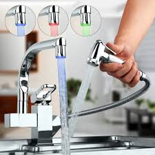 Led Kitchen Faucet Online Buy Wholesale Lighted Kitchen Faucets From China Lighted