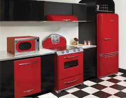 red appliances for kitchen kitchen and residential design