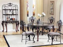 kitchen dining room furniture dining table and 6 chairs dining