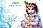 Wallpapers Backgrounds - download lord Shri Krishna phtoes pictures wallpapers