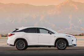 lexus rx 450h germany 2016 lexus rx 350 f sport and rx 450h show up in nyc autoevolution