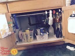 Under Kitchen Sink Cabinet Organization Ideas You Can Use - Kitchen sink cupboards