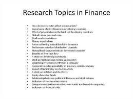 Research Project dissertation topics   mgorka com