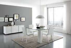 Contemporary Dining Room Sets Dining Room Modern Dining Sets In Black And White Theme With