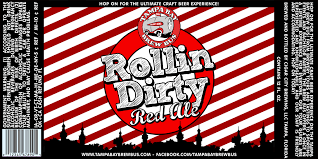Tampa Bay Brew Bus Rollin Dirty Red Ale