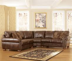 Carolina Leather Sofa by Durablend Antique Stationary Sofa Sectional By Signature Design
