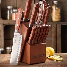 the pioneer woman cowboy rustic forged 14 piece cutlery set red