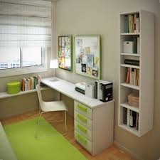 White Bedroom Desk Furniture by Bedroom Charming White Green Wood Glass Simple Design Small