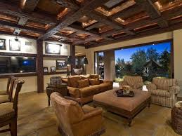 Exposed Beam Ceiling Living Room by Charming Dining Table Modern Bright Living Room Patio Door Rug