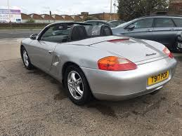 used porsche boxster convertible 2 5 986 convertible 2dr in