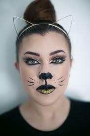 halloween makeup glam kitty live love lash