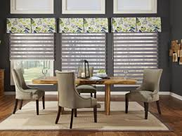 formal dining room window treatments dining room window