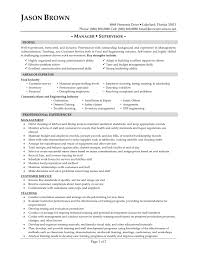 Sample Resume Template for General Manager with Experience VisualCV