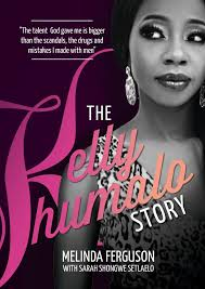 Kelly Khumalo's book titled The Kelly Khumalo Story was released a month ago, so has Khanyi Mbau's Bitch please I am Khanyi Mbau. - kelly-khumalo-book-cover