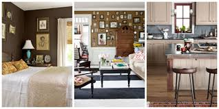 How To Decorate Your Dining Room Table Decorating With Brown Pictures Of Brown Rooms