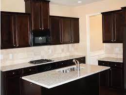 Iron Kitchen Island by Kitchen Backsplash With Dark Cabinets U Shaped Brick Kitchen