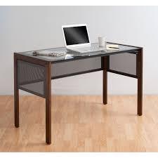 calico designs office line ii glass top desk by studio designs in