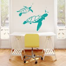 turtle wall decals removable color the walls your house turtle wall decals removable your walls with these swimming turtles for