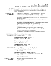 Resume Sample Pdf by Download Resume For Registered Nurse Haadyaooverbayresort Com