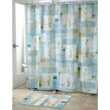 bathroom with nautical themed shower curtain all home ideas image shower curtains nautical