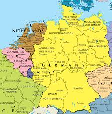 Detailed Map Of Germany by Germany And Belgium Map New Zone