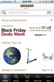 amazon black friday specials 2012 amazon changed holiday shopping forever now app showdown is on