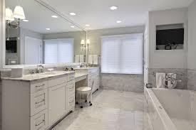 great modern over mirror lighting fix marble master bathroom