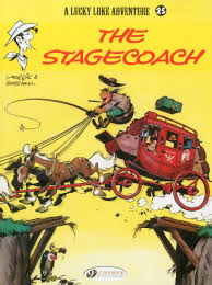 stagecoach lucky luke goscinny morris 9781849180528