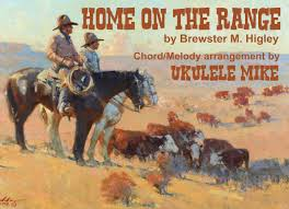 Home On The Range by Home On The Range U201d By Brewster M Higley A Ukulele Chord