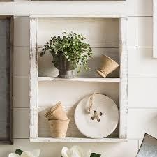 delhutsondesigns reclaimed wood wall shelf u0026 reviews wayfair