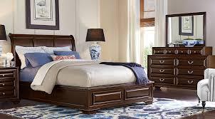 Cheap Wooden Bedroom Furniture by Dark Wood Queen Bedroom Sets Cherry Espresso Mahogany Brown Etc