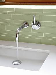 Bathroom Sink Wall Faucets by Best 25 Wall Mount Faucet Ideas On Pinterest White Bathroom