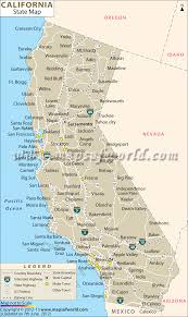 Mexico Cities Map by California Major Cities Map California Map