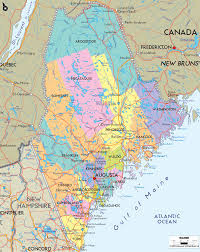 Map Of Portland Maine by Detailed Clear Large Map Of Maine Ezilon Maps
