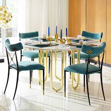 Jonathan Adler Home Decor by 20 High End Dining Tables For Stylish Homes