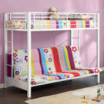 A Collection Of Cool Teenage Bunk Bed Ideas: Lovely White Teenage ...