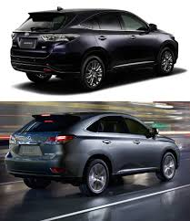pictures of lexus suv 2015 toyota to reintroduce lexus rx based harrier crossover in japan