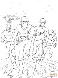 star trek the animated series coloring page free printable
