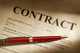 Processing Loan Contract