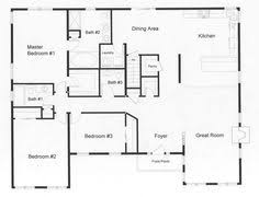 Ranch Style House Plans With Basement by Ranch Style Floor Plans Additional Floor Plan Concept Leroux Brick