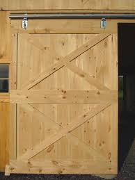 Diy Barn Doors by Barn Door Construction How To Build Sliding Barn Doors
