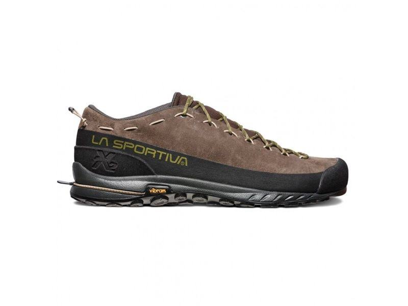 La Sportiva TX2 Leather Approach Shoes Chocolate/Avocado 45.5 27G-805707-45.5