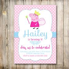 peppa pig birthday invitations u2013 gangcraft net