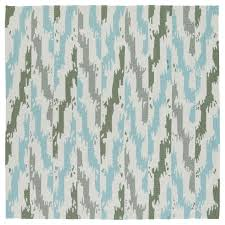 Discount Indoor Outdoor Rugs Seaside Ivory And Blue Ikat Indoor Outdoor Rug 7 U00279 X 7 U00279 Square
