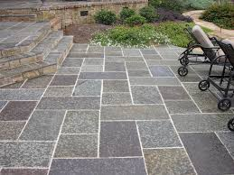 Backyard Cement Patio Ideas by Decorating Deck Patio Ideas With Stamped Concrete Patio Plus
