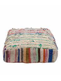 Coloured Rug Muli Coloured Rug Floor Cushion
