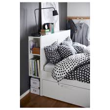 Diy Ikea Bed Brimnes Bed Frame With Storage U0026 Headboard Queen Lönset Ikea